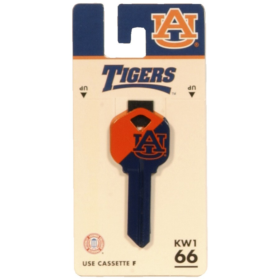 Hillman #66 Auburn Tigers Key Blank