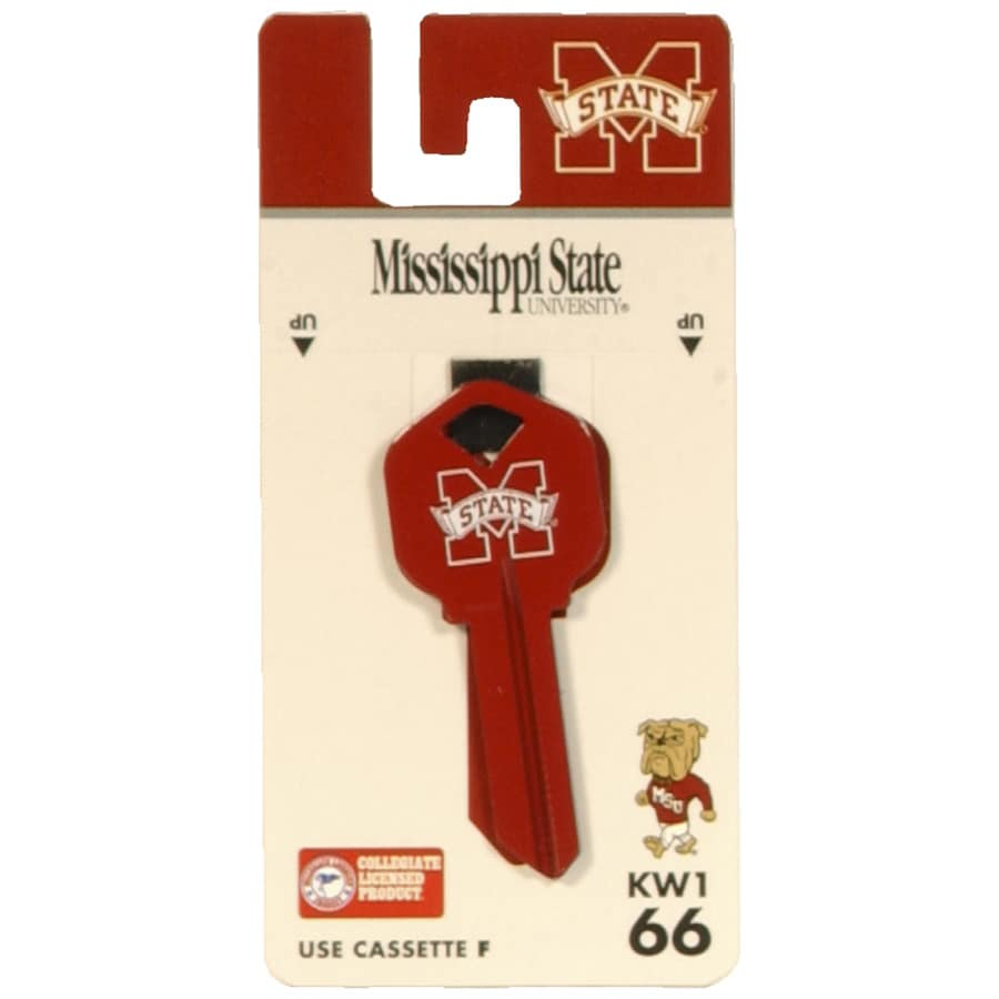 The Hillman Group #66 Mississippi State Bulldog Key Blank
