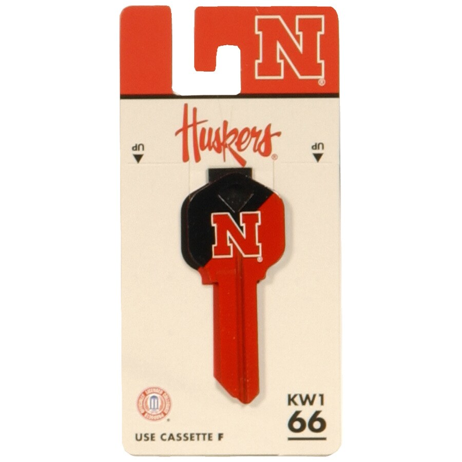 The Hillman Group #66 Nebraska Cornhuskers Key Blank