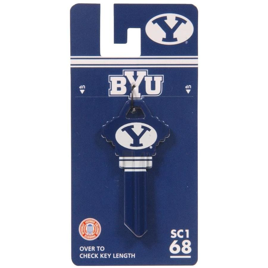 The Hillman Group #68 NCAA BYU Cougars Key Blank