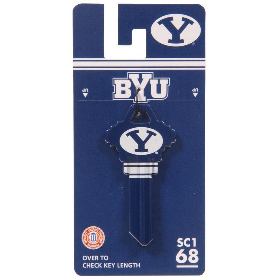 Hillman #68 NCAA BYU Cougars Key Blank