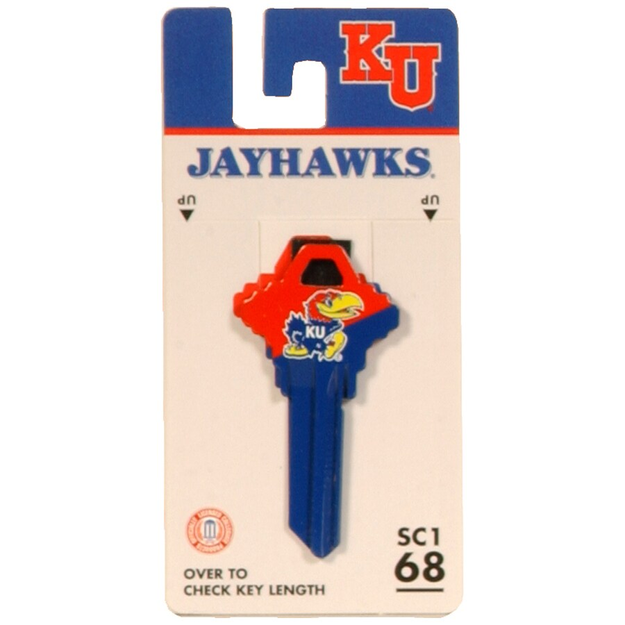 Fanatix #68 University of Kansas Key Blank