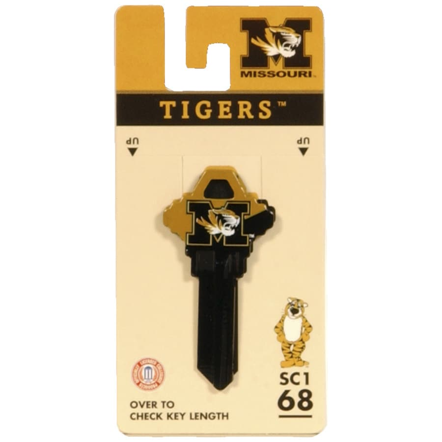 Fanatix #68 University of Missouri Key Blank