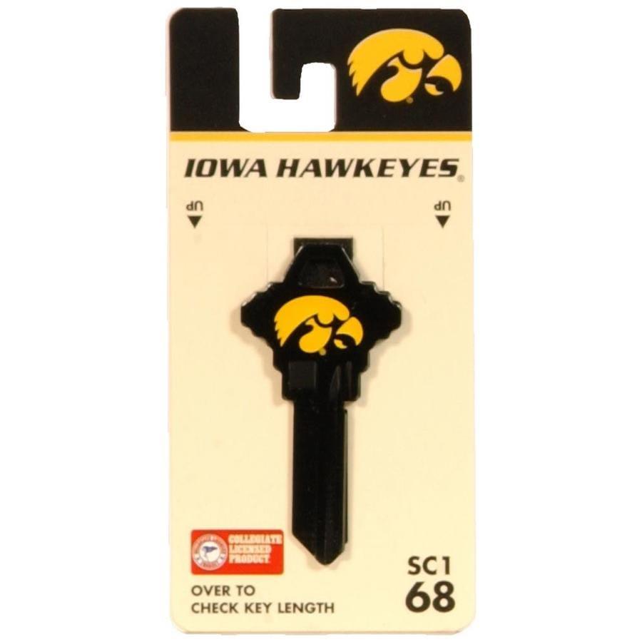 Fanatix #68 University of Iowa Key Blank