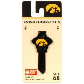 8259d84880fc6c Fanatix Iowa Hawkeyes Brass House/Entry Key Blank