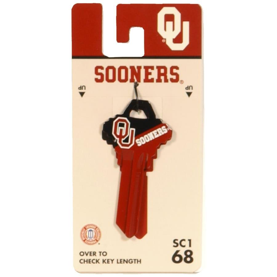 Fanatix #68 Oklahoma Sooners Key Blank