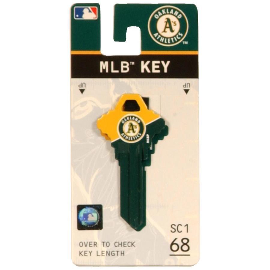 Hillman #68 MLB Oakland Athletics Key Blank