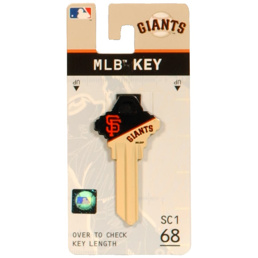 The Hillman Group #68 San Francisco Giants Key Blank