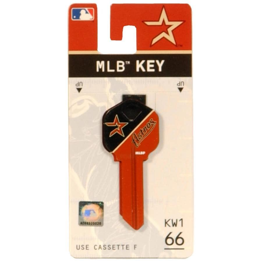 Hillman #66 MLB Houston Astros Key Blank