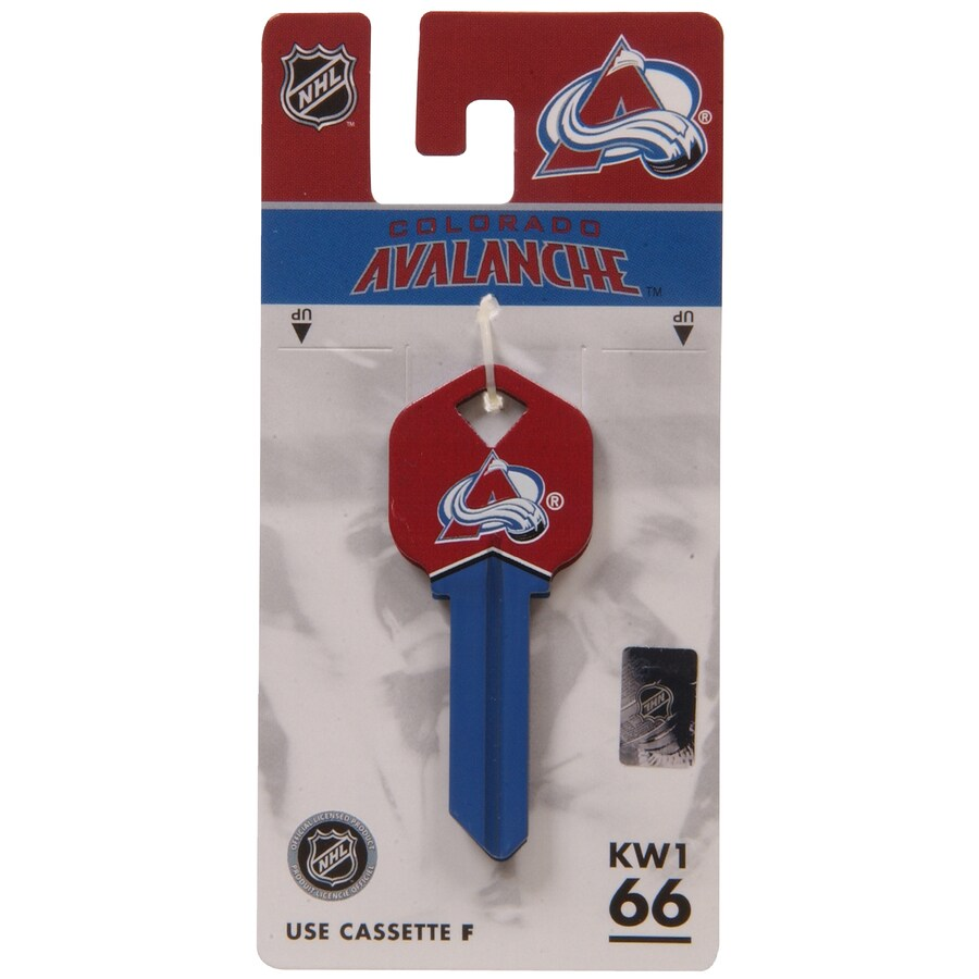 The Hillman Group #66 NHL Colorado Avalanche Key Blank