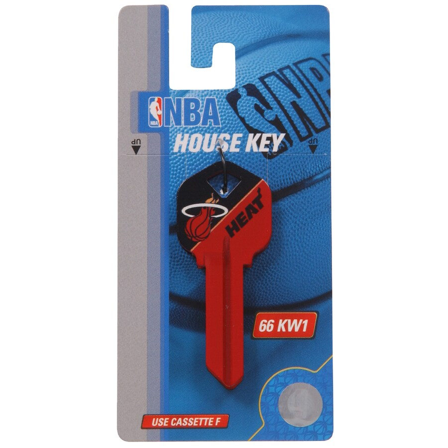 The Hillman Group #66 NBA Miami Heat Key Blank