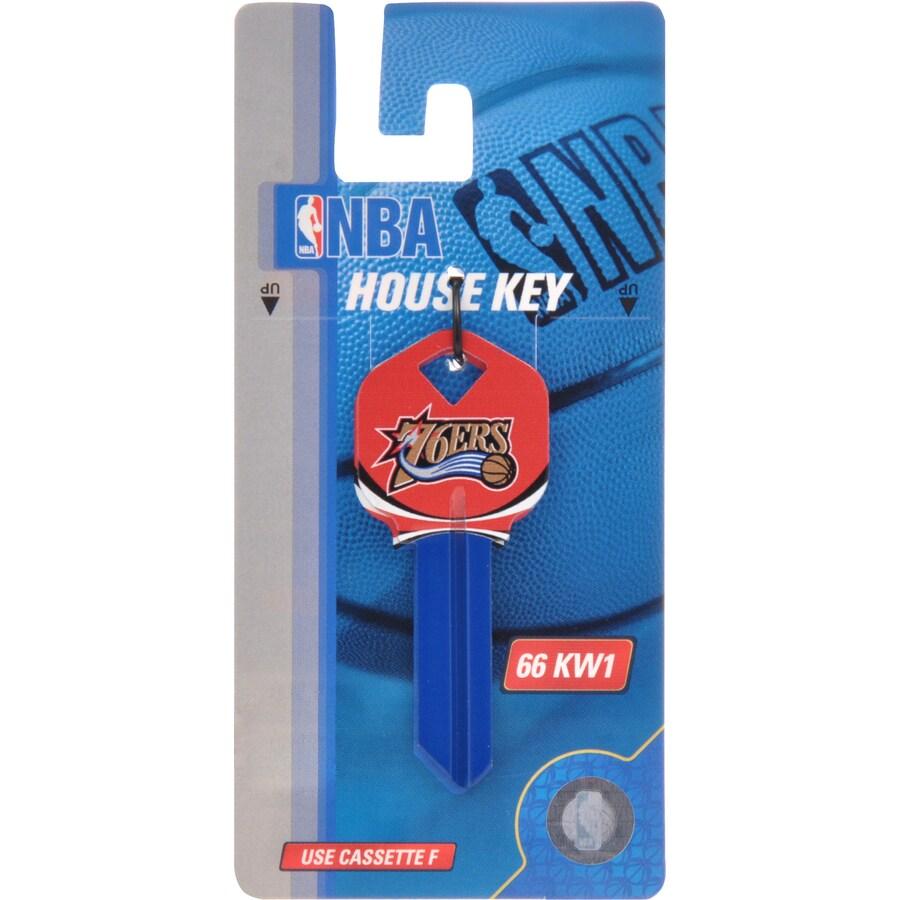 The Hillman Group #66 NBA Philadelphia 76ers Key Blank