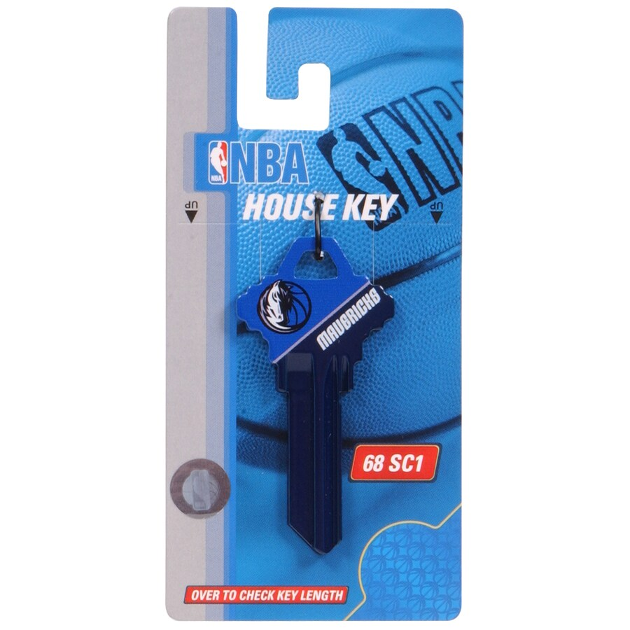 Hillman #68 NBA Dallas Mavericks Key Blank