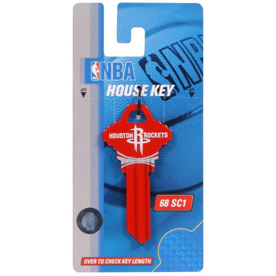 The Hillman Group #68 NBA Houston Rockets Key Blank