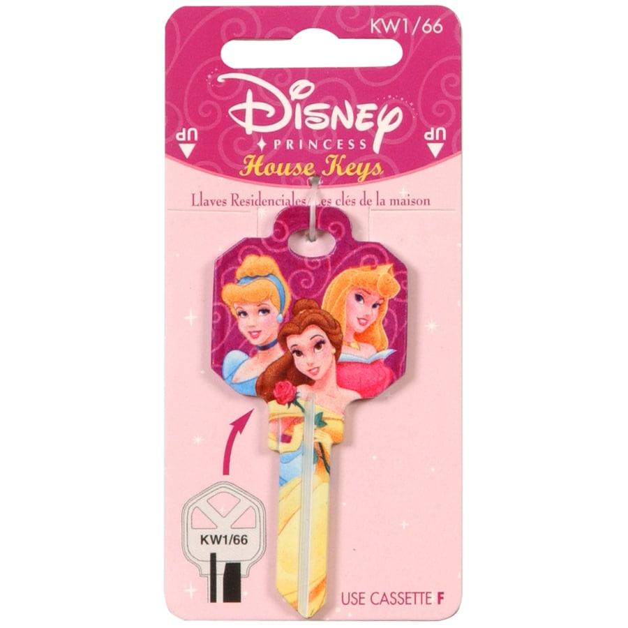 Hillman #66 Disney Princess House/Entry Key Blank
