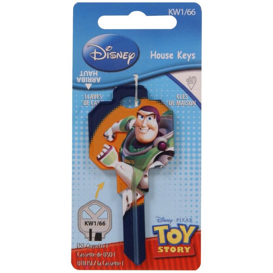 The Hillman Group #66 Disney Pixar Toy Story Woody House Key Blank