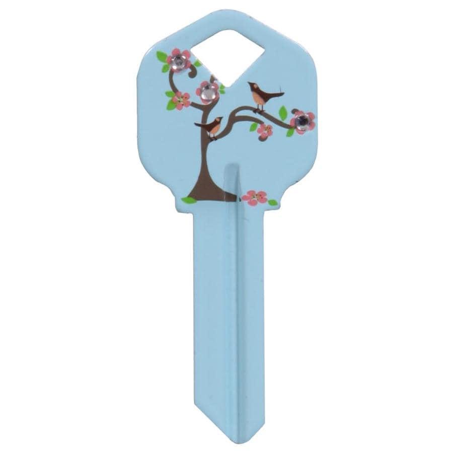 The Hillman Group #66 Diva Tree Bird Key Blank