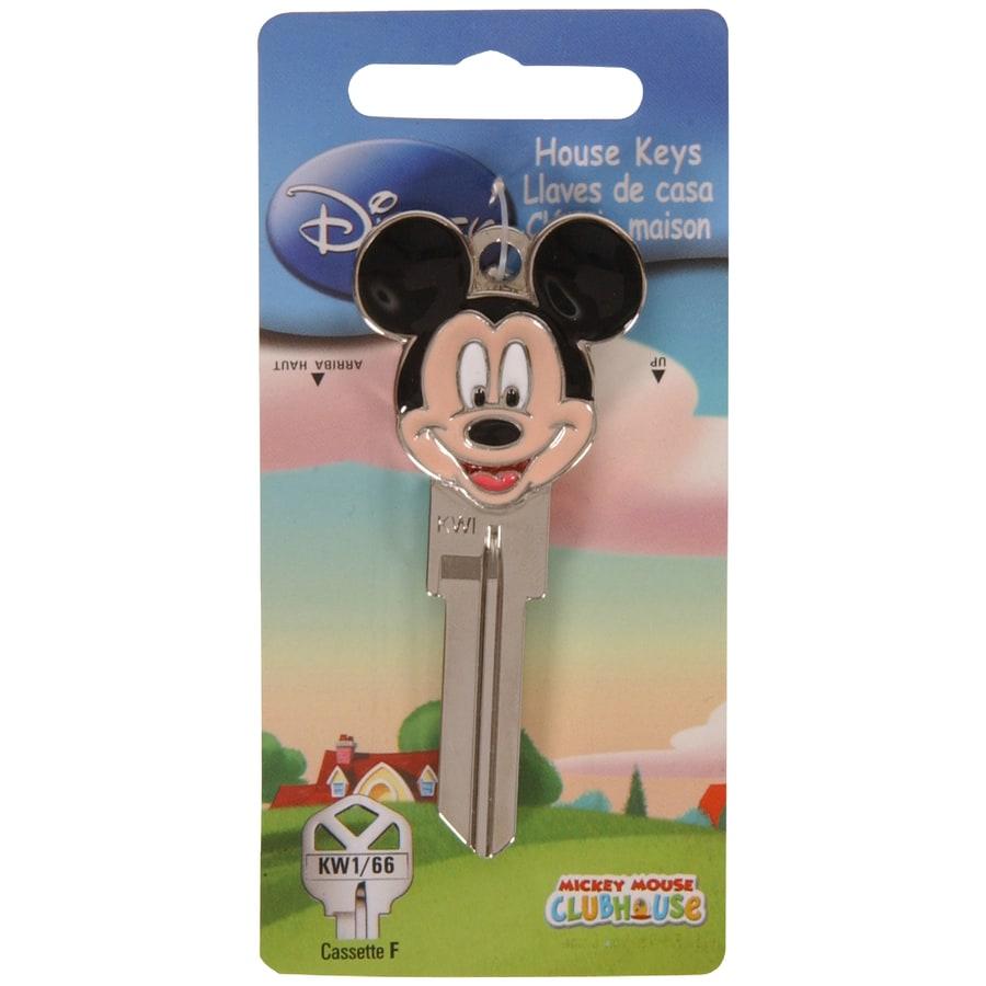 Hillman #66 3D Disney Mickey Key Blank