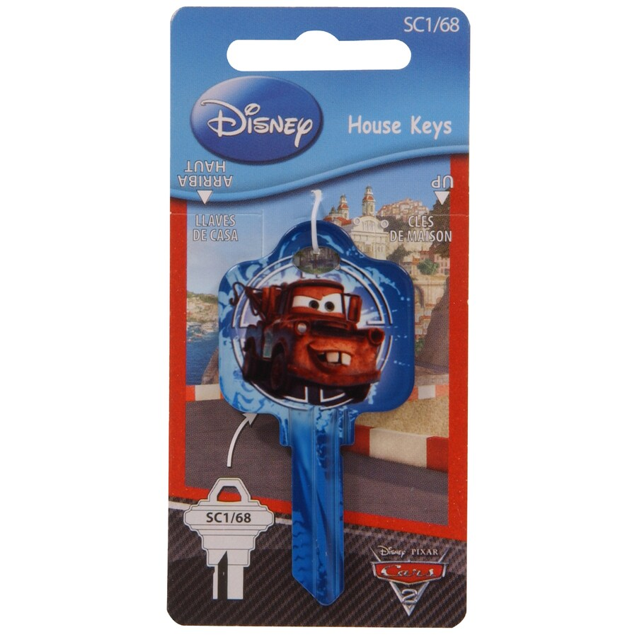 The Hillman Group #68 Disney Pixar Cars Mater House/Entry Key Blank
