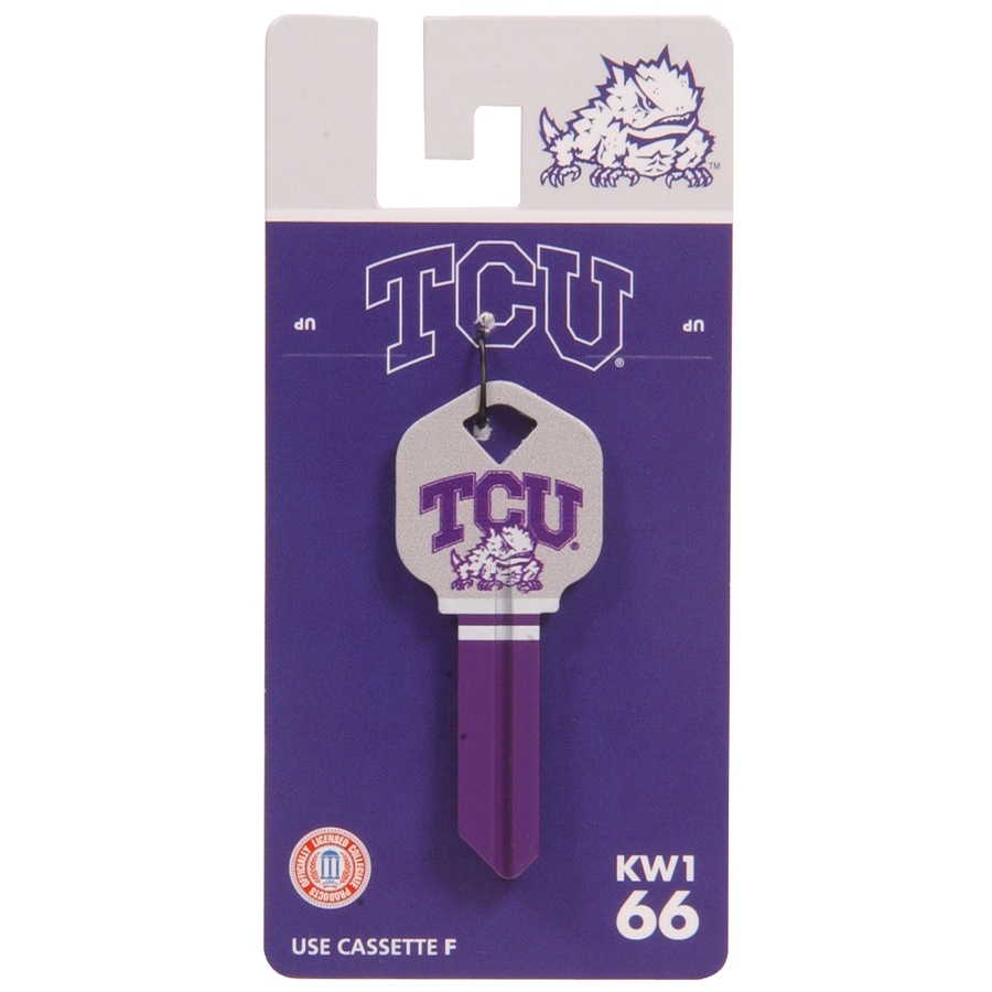 Hillman #66 NCAA TCU Horned Frogs Key Blank