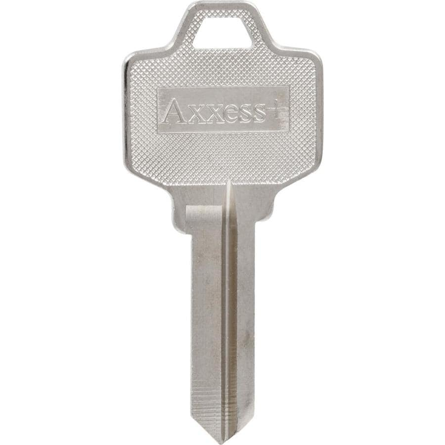 shop hillman #74 national cabinet lock key blank at lowes