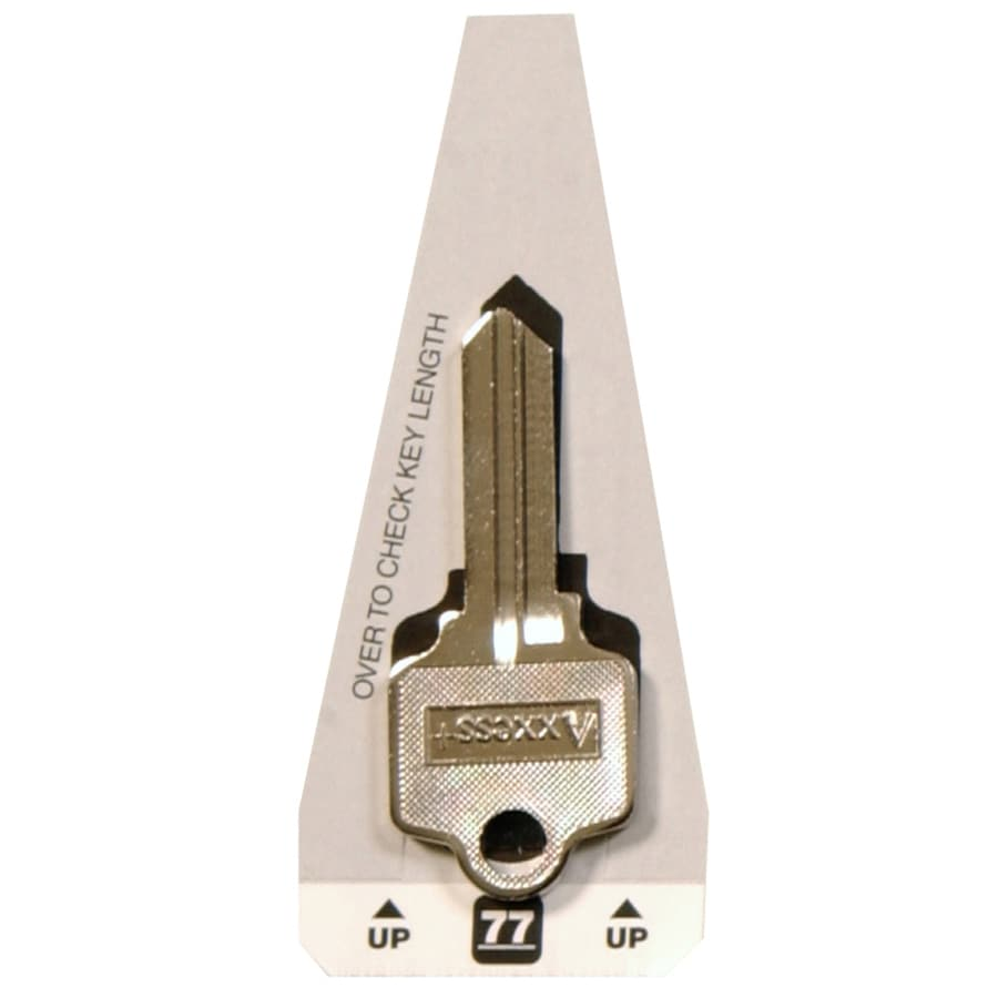 Hillman #77 Arrowor Segal Key Blank