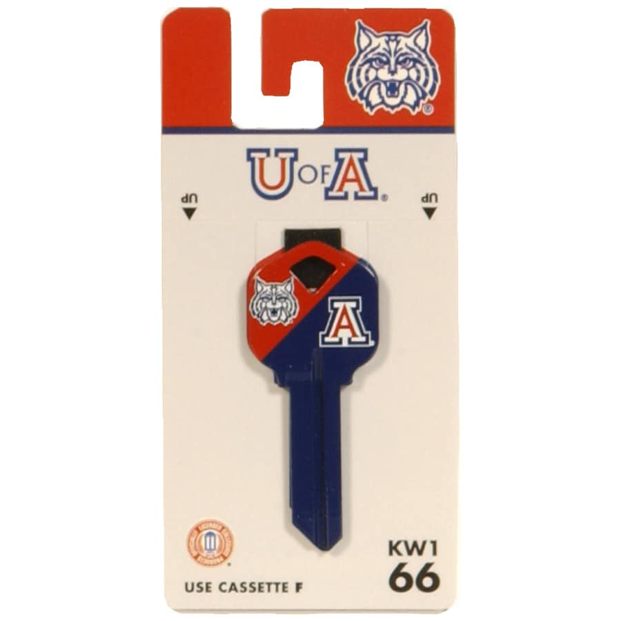 Hillman Arizona Wildcats Brass House/Entry Key Blank