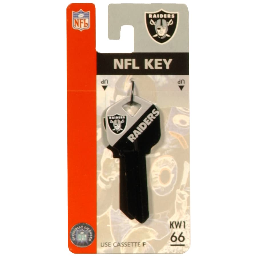 Hillman Oakland Raiders Brass House/Entry Key Blank