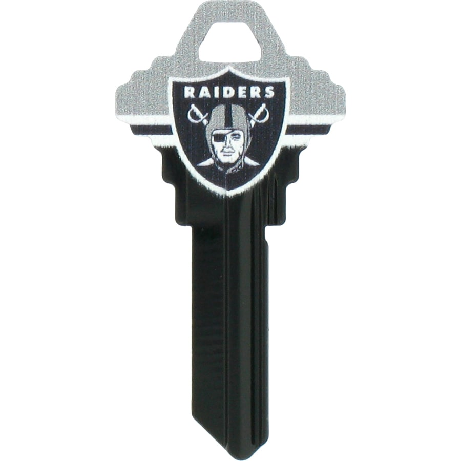 The Hillman Group Oakland Raiders Brass House/Entry Key Blank