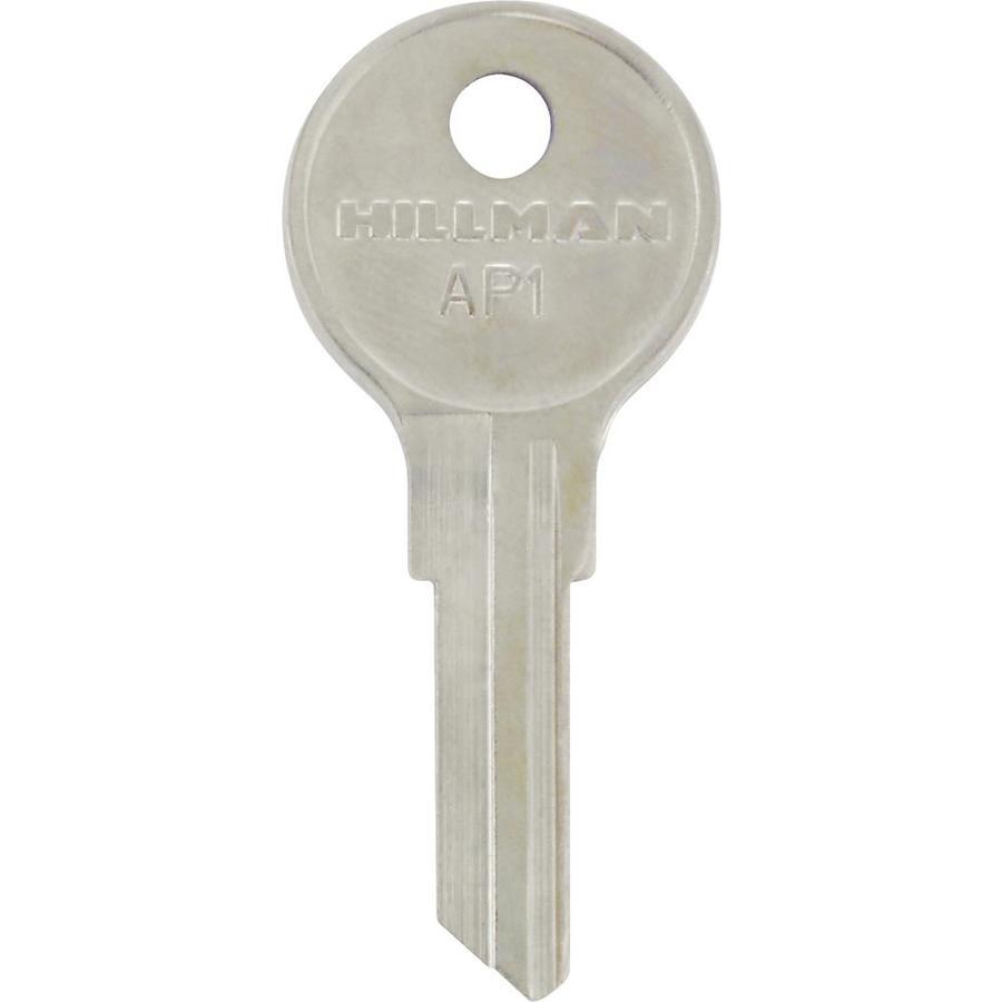 Hillman Brass House/Entry Key Blank