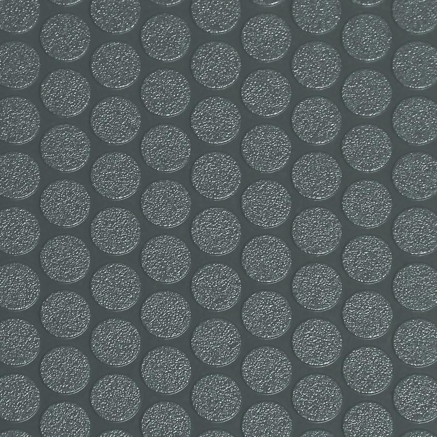 G Floor Small Coin 5 Ft X 10 Ft Slate Grey Raised Coin Garage Floor