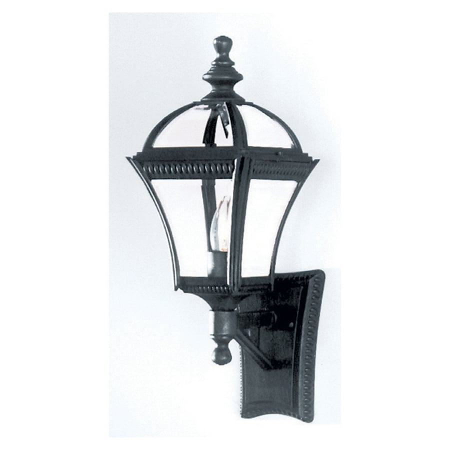 Bel Air Lighting 19.5-in H Black Outdoor Wall Light