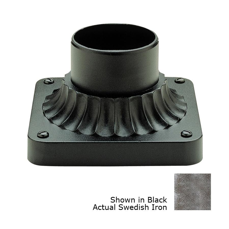 Bel Air Lighting Swedish Iron 3.25-in Pier Light Mount