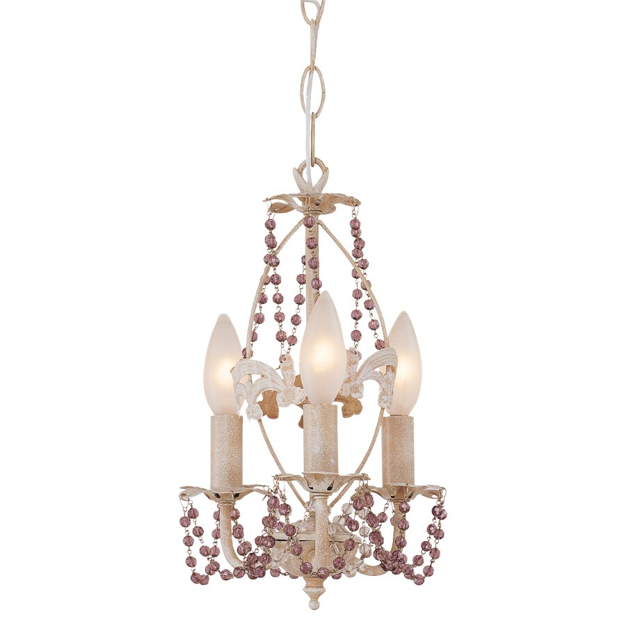Shop bel air lighting the olde world 3 light antique white bel air lighting the olde world 3 light antique white chandelier mozeypictures Images