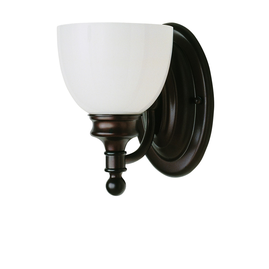 Shop Bel Air Lighting 6 In W 1 Light Oil Rubbed Bronze Arm
