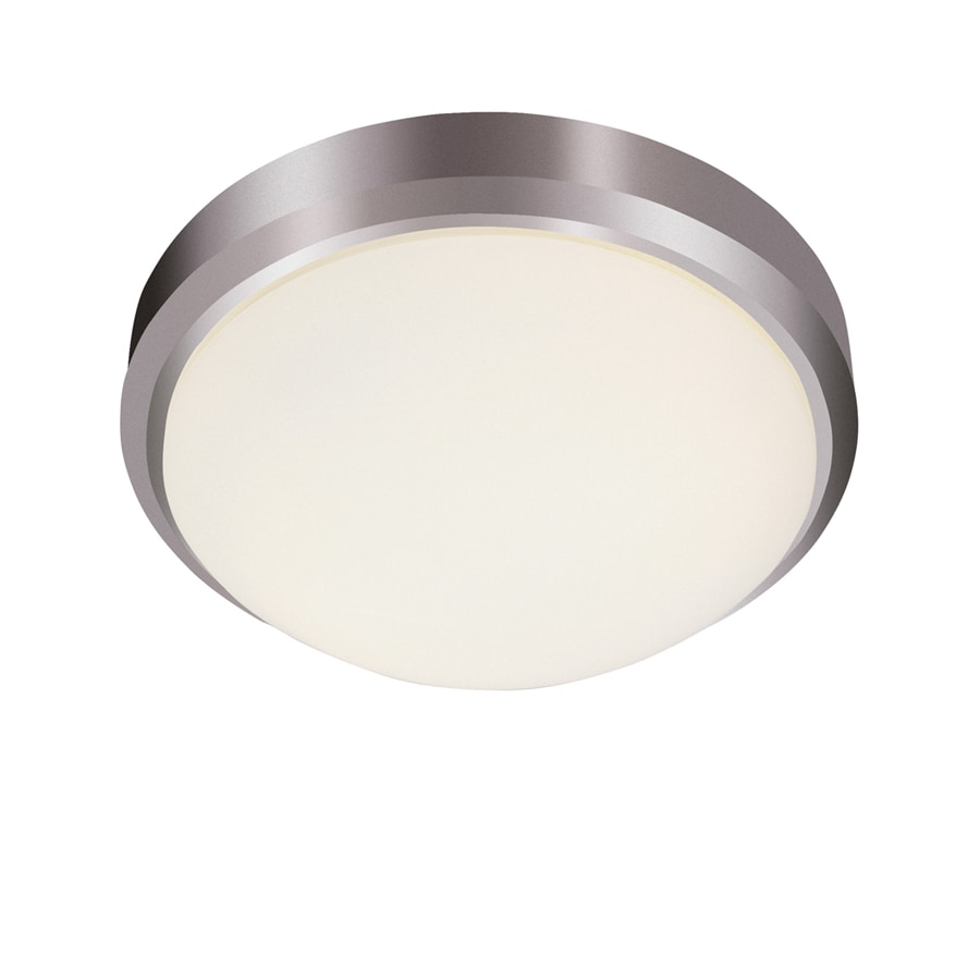 Bel Air Lighting 15-in W Brushed Nickel Ceiling Flush Mount