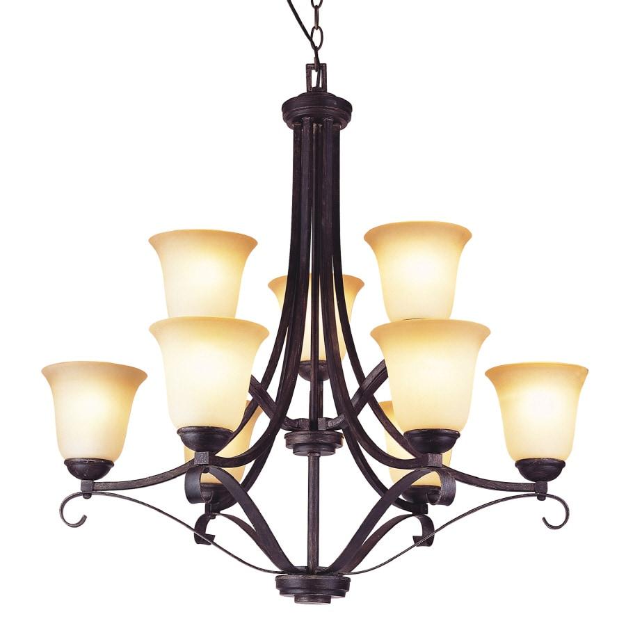 Bel Air Lighting 9 Light Chandelier