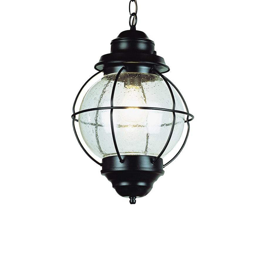 Bel Air Lighting 19-in H Oil Rubbed Bronze Outdoor Pendant Light