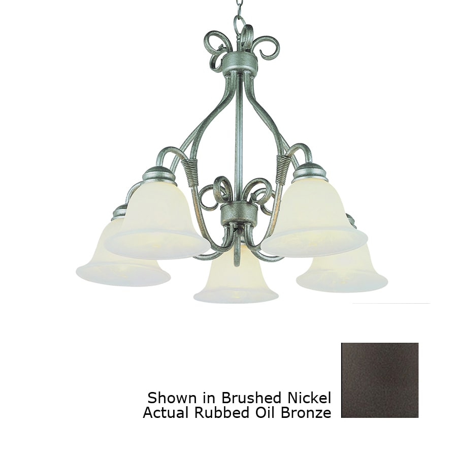 Bel Air Lighting New Century 5 Light Oil Rubbed Bronze Chandelier