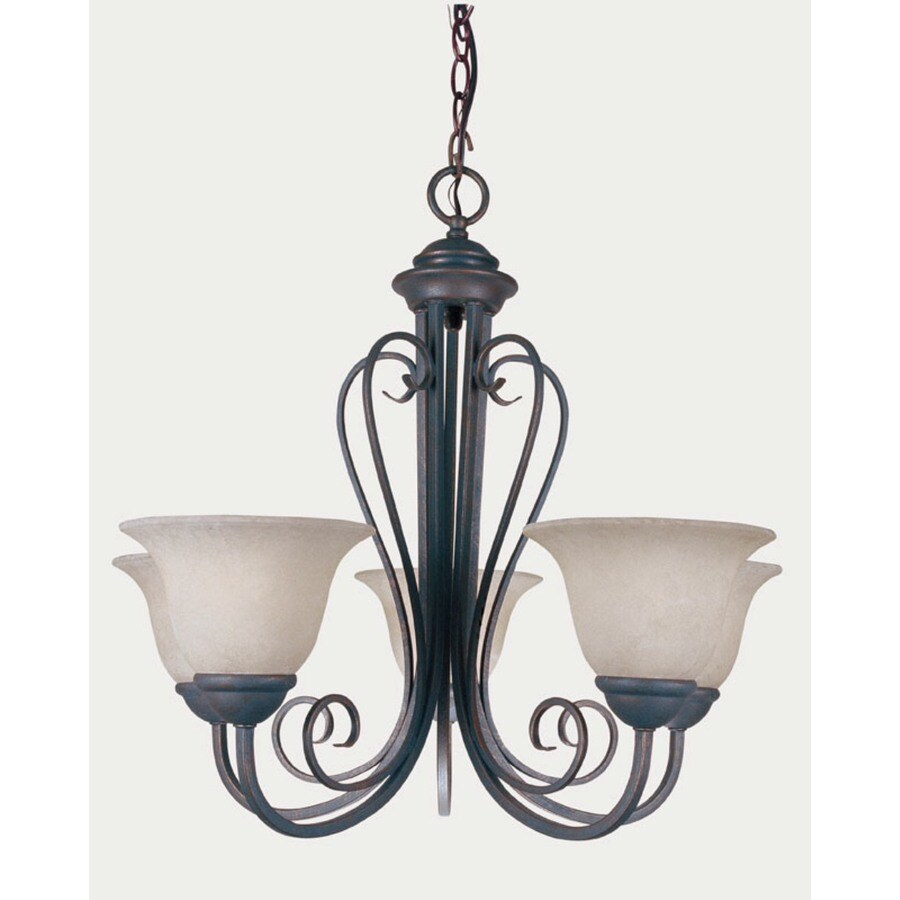 Shop portfolio 5 light pewter traditional chandelier at lowes portfolio 5 light pewter traditional chandelier arubaitofo Image collections