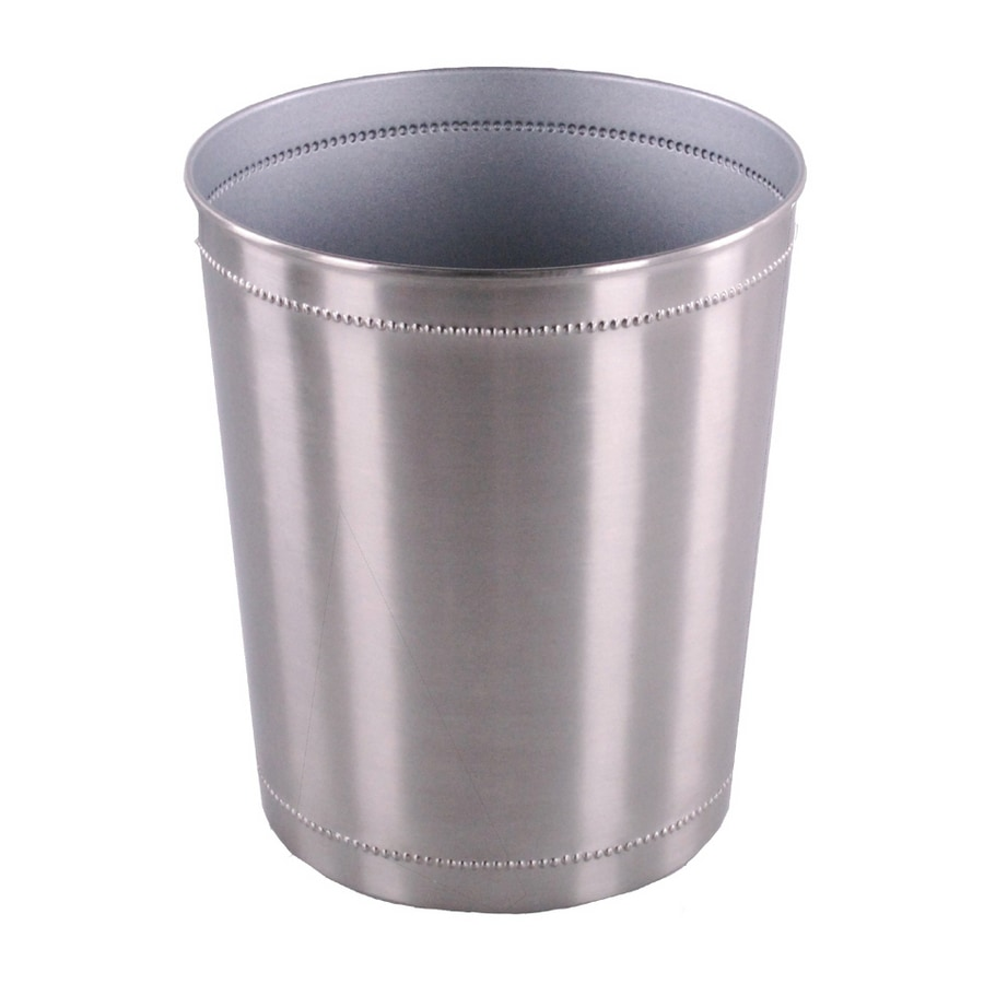 2 906 Gallon Silver Trash Can