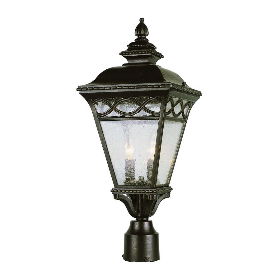 Bel Air Lighting 2-Light Post Top Lantern