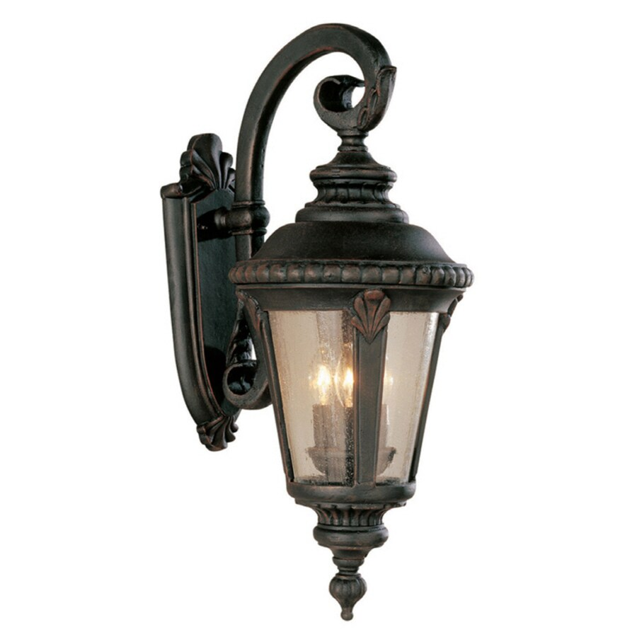 shop bel air lighting rust outdoor wall light at. Black Bedroom Furniture Sets. Home Design Ideas