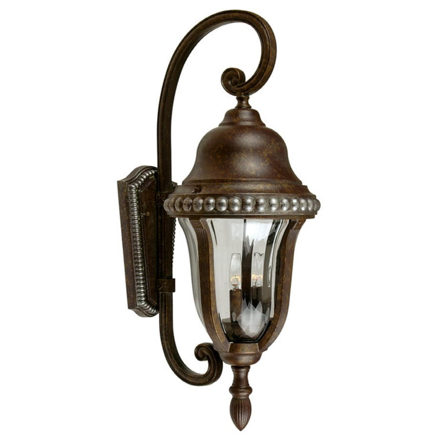 Portfolio Antique Bronze Outdoor Wall Light