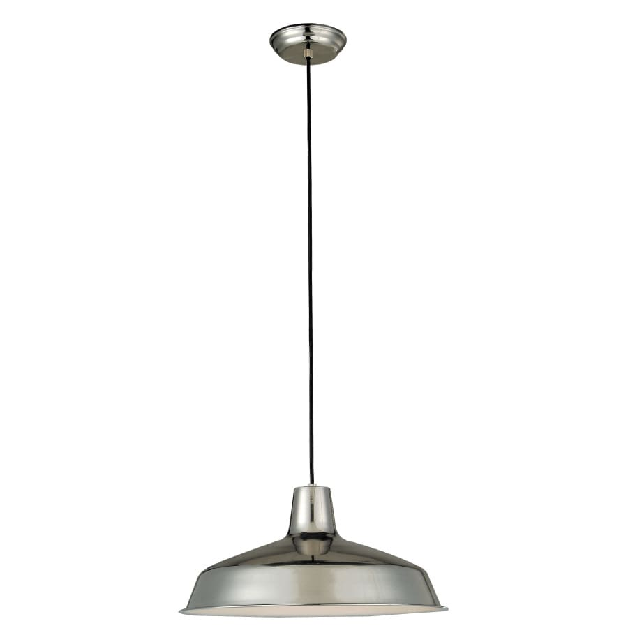 Shop Portfolio Stainless Steel Mini Standard Pendant At