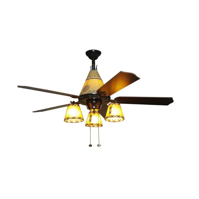 bel air lighting 52in indoor downrod ceiling fan 4blade