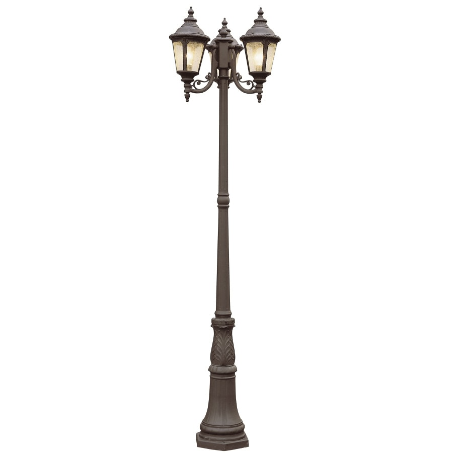 Shop bel air lighting 3 light post top lantern at lowes bel air lighting 3 light post top lantern aloadofball Gallery