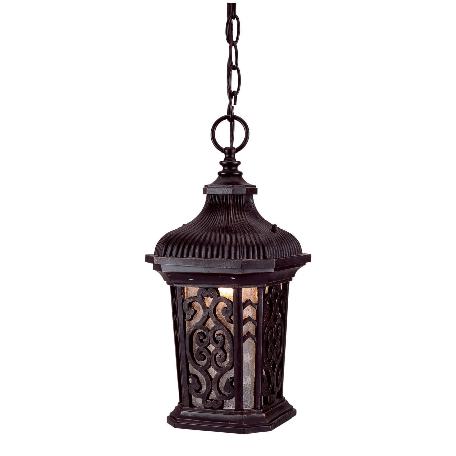 Antique Outdoor Pendant Lighting : Bel air lighting in antique rust outdoor