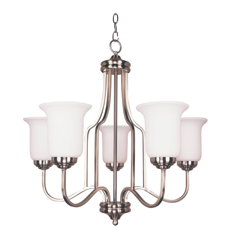 Bel Air Lighting 5 Light Brushed Nickel Chandelier Energy Star