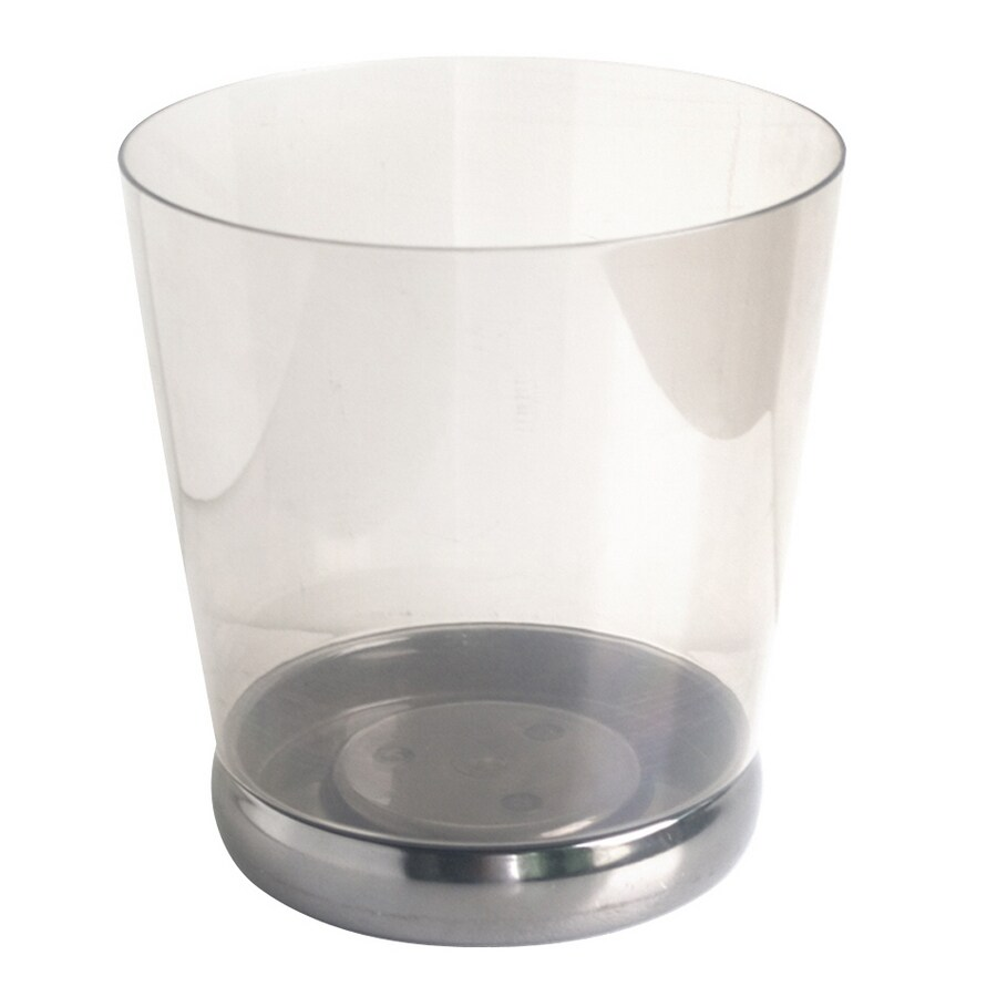 Bel Air Lighting 1-Gallon Clear Trash Can